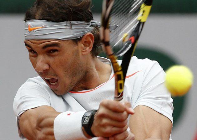 Španělský tenista Rafael Nadal ve finále French Open.