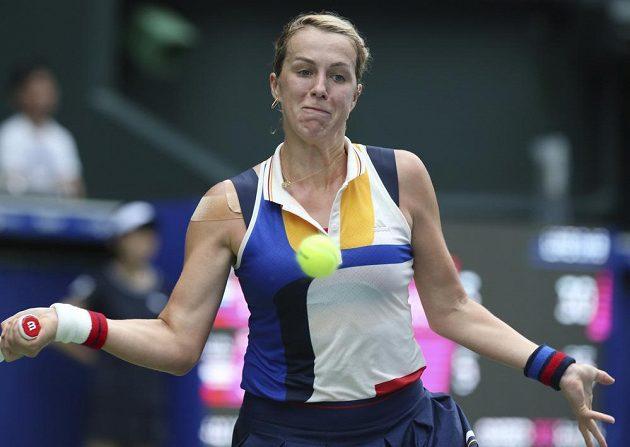 Tenistka Barbora Strýcová vypadla v Tokiu ve čtvrtfinále. Nad síly české hráčky byla ruská tenistka Anastasia Pavljučenkovová (na snímku).