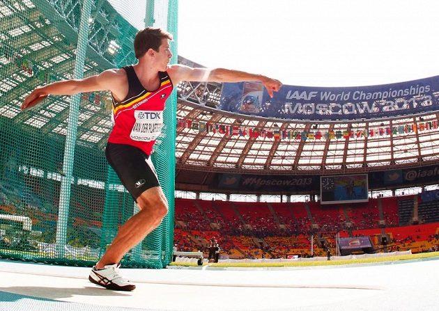 Vícebojař Thomas van der Plaetsen. Belgický atlet se úspěšně vrací po překonané rakovině varlat.