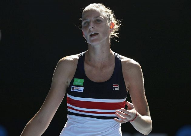 Karolína Plíšková, poslední česká zástupkyně ve dvouhře žen, se s Australian Open po čtvrtfinále loučí.