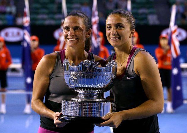 Sara Erraniová a Roberta Vinciová získaly čtvrtý společný grandslamový titul v deblu.
