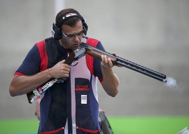 David Kostelecký se musel v Brazílii spokojit s bramborovou medailí.