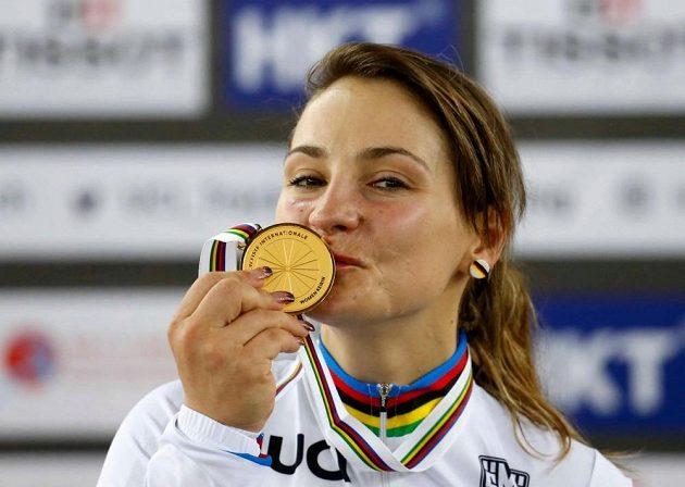 Německá šampionka Kristina Vogelová.