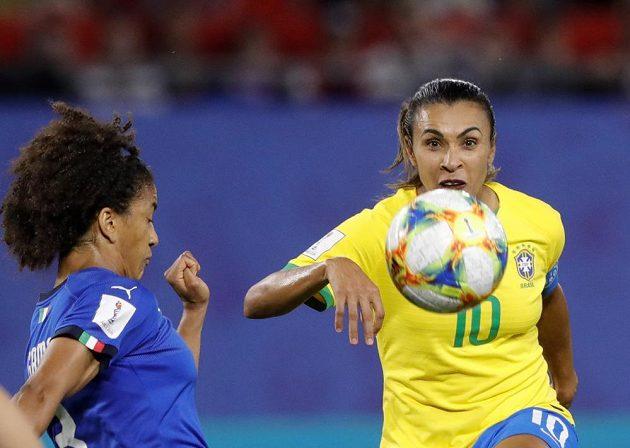 Brazilky bojovaly na mistrovství světa s Itálií