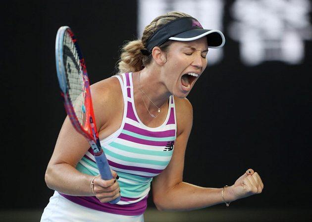 Senzace! Danielle Collinsová z USA je v semifinále tenisového Australian Open.