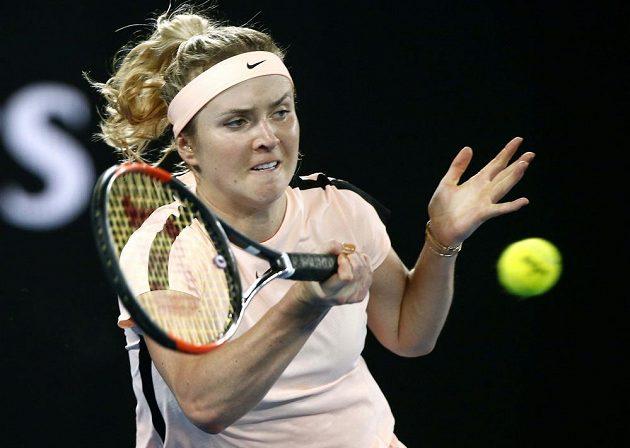 Elina Svitolinová z Ukrajiny vyhrála nad Denisou Allertovou a zahraje si čtvrtfinále Australian Open.