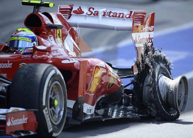 Felipe Massa dopadl úplně stejně jako Hamilton...