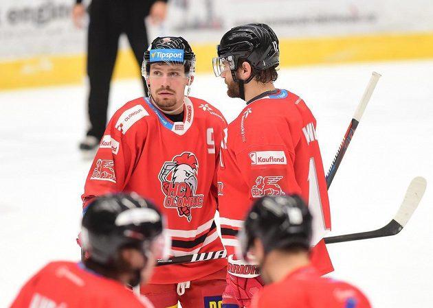 Zleva Jan Káňa a Jan Knotek z Olomouce.