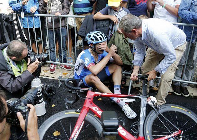 Jack Bauer z Nového Zélandu by se v cíli 15. etapy Tour nejraději neviděl.