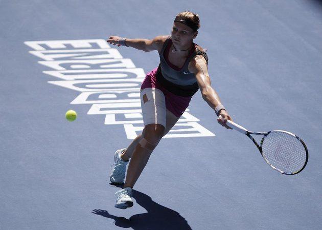 Česká tenistka Lucie Šafářová prohrála ve třetím kole Australian Open s Číňankou Li Na.
