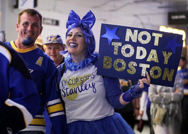 Fanoušci St. Louis Blues věřili, že jejich tým získá Stanley Cup.