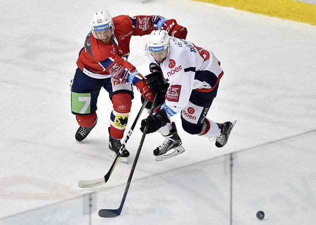 Zleva Mathias Porseland z Pardubic a Vladimír Růžička z Chomutova.