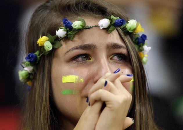 Brazilským fotbalistům i fanouškům zbyly na domácím MS oči pro pláč...