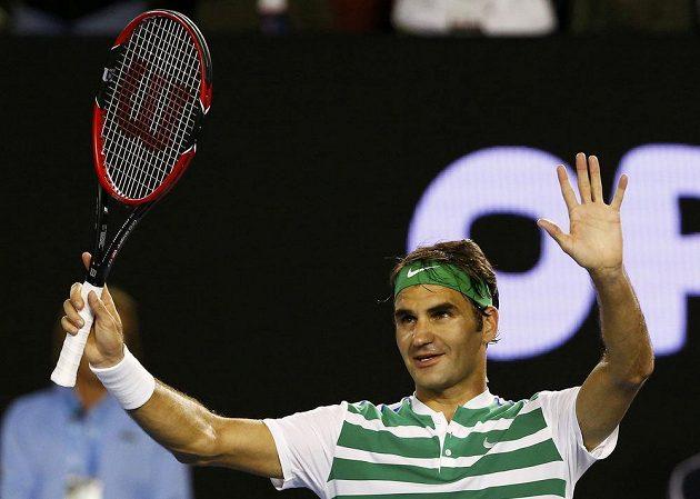 Roger Federer šmikl Goffina a už se těší na Berdycha...