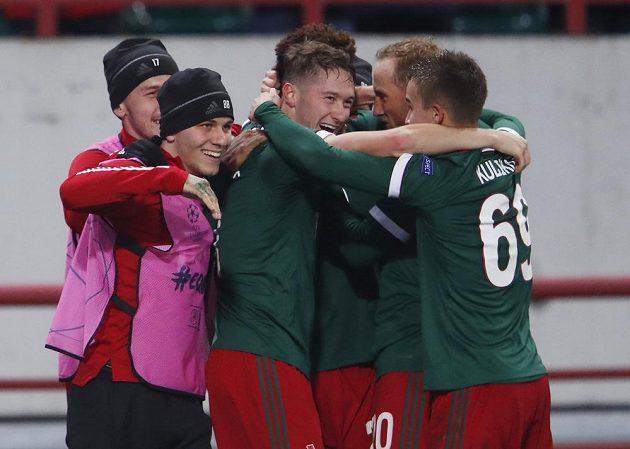 Radost v podání fotbalistů Lokomotivu Moskva vydržela ruskému týmu v utkání Ligy mistrů s Bayernem jen pár minut.