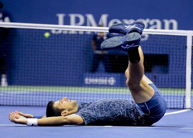 Dobojováno! Novak Djokovič potřetí ovládl grandslamové US Open.