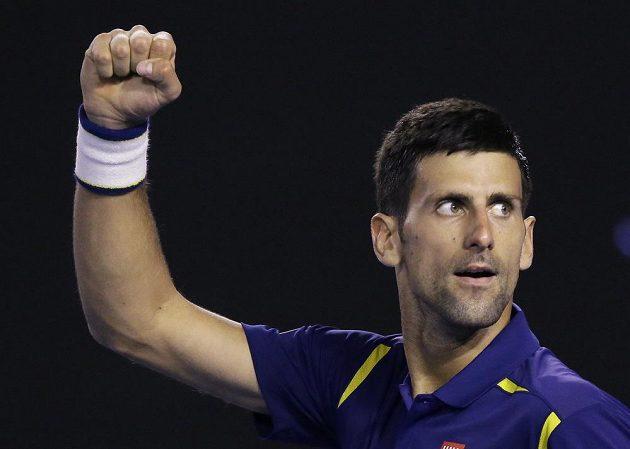 Světová jednička a největší favorit Australian Open Novak Djokovič.