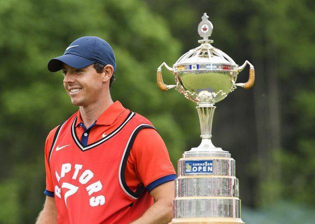 Golfista Rory McIlroy před majorem US Open vyhrál turnaj Canadian Open.