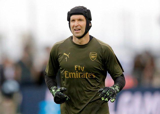Na Olympijském stadionu v Baku se chystal na svůj poslední zápas kariéry brankář Arsenalu Petr Čech. Ve finále Evropské ligy vyzvou Kanonýři londýnskou Chelsea.