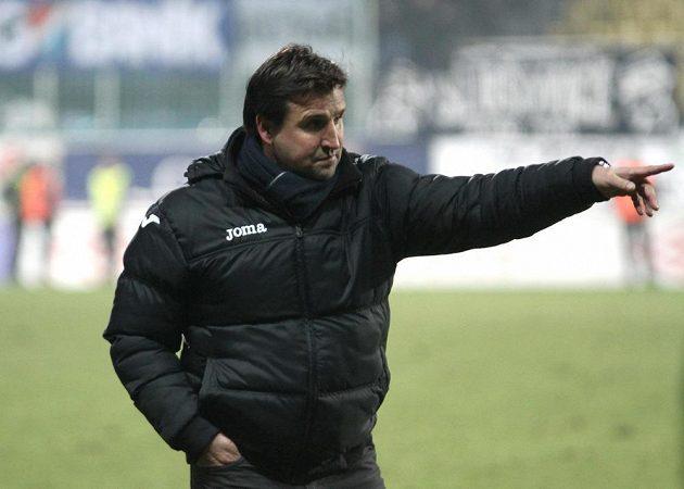 Ostravský trenér Petr Frňka.