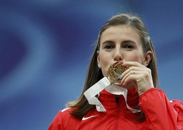 Mistryně světa z běhu na 400 metrů překážek Zuzana Hejnová