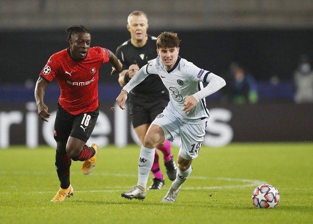 Fotbalisté Rennes hostili v Lize mistrů favorizovanou Chelsea