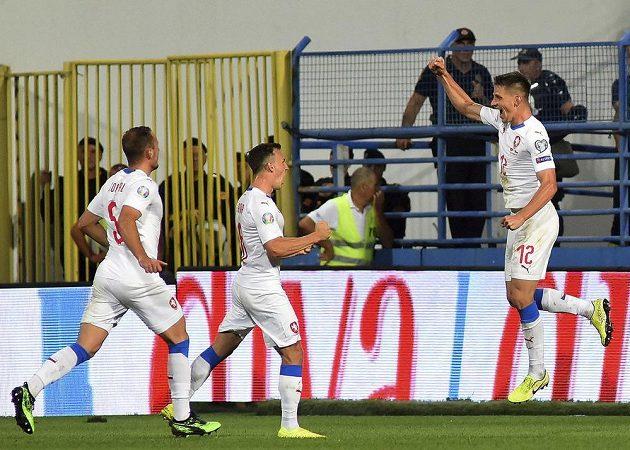 Lukáš Masopust se postaral o druhý gól českého týmu