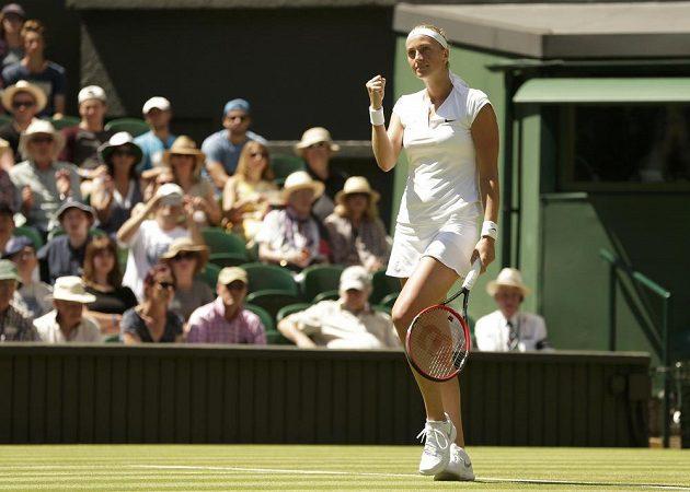 Možná i samotnou Petru Kvitovou překvapilo, jak snadno přešla přes Nizozemku Kiki Bertensovou do 2. kola Wimbledonu.