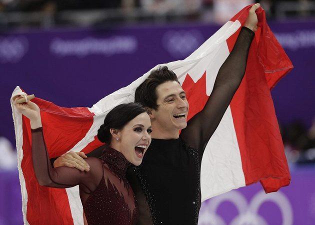 Kanaďané Tessa Virtueová a Scott Moir se s krasobruslařskou kariérou rozloučili zlatem na ZOH. V tancích na ledě porazili o 79 setin Papadakisovou a Cizerona.