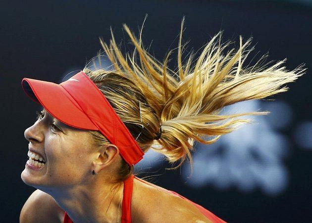 Maria Šarapovová na letošním Australian Open.