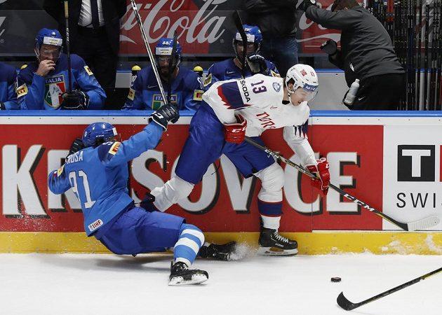 Itálie bojovala o první body s Norskem