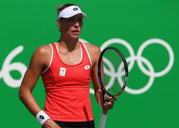 Belgičanka Yanina Wickmayerová na českou tenistku Barboru Strýcovu nestačila.