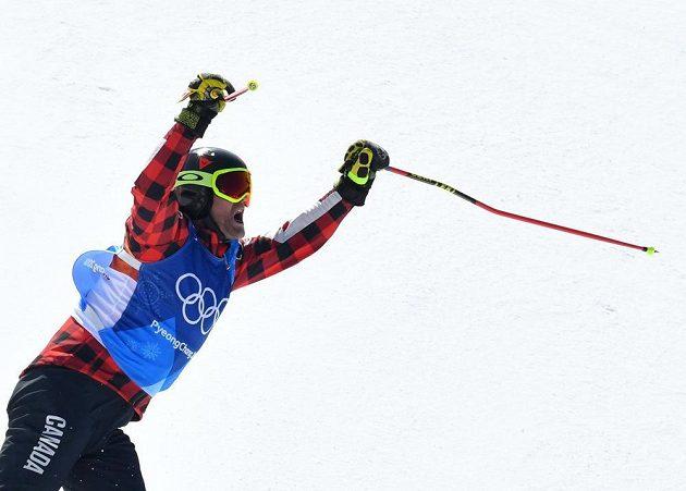 Kanaďan Brady Leman je novým olympijským vítězem ve skikrosu.