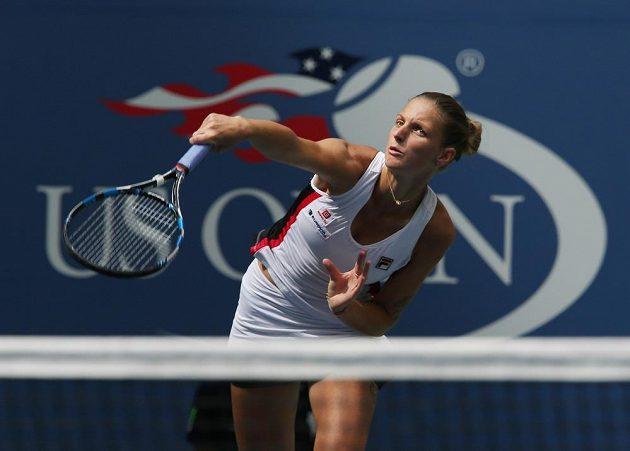 Karolína Plíšková v osmifinále US Open.