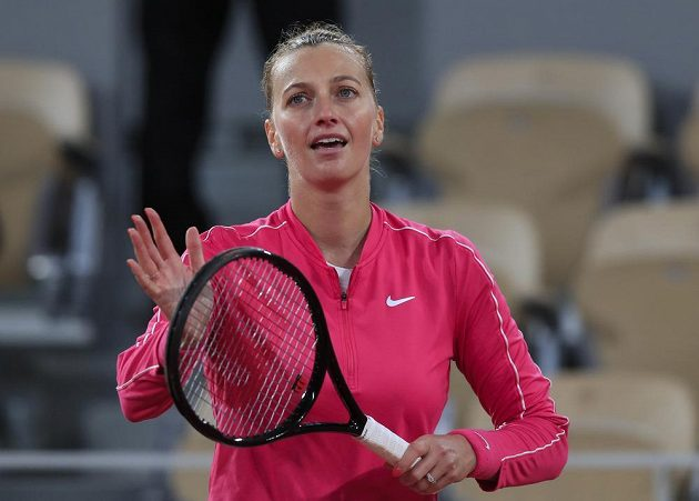 Je dobojováno. Petra Kvitová slaví postup do čtvrtfinále French Open.