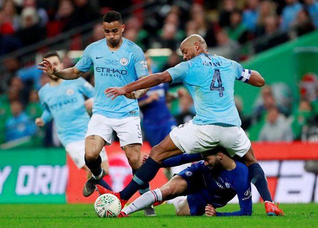 Ve finálovém zápase Chelsea a Manchesteru United diváci v normální hrací době branku neviděli