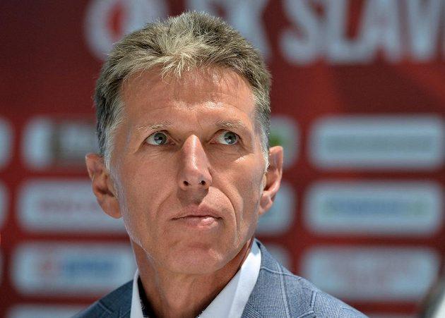 Nový trenér fotbalové Slavie Jaroslav Šilhavý.