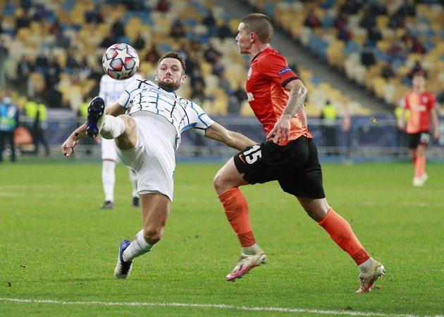 Ukrajinský Šachtar Doněck statečně bojoval v Lize mistrů s italským gigantem Interem Milán.