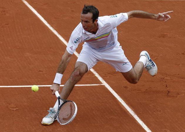 Radek Štěpánek na letošním French Open.