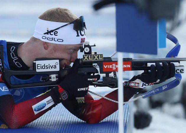 Johannes Thingnes Bö se s norskou štafetou na MS dočkal zlata.