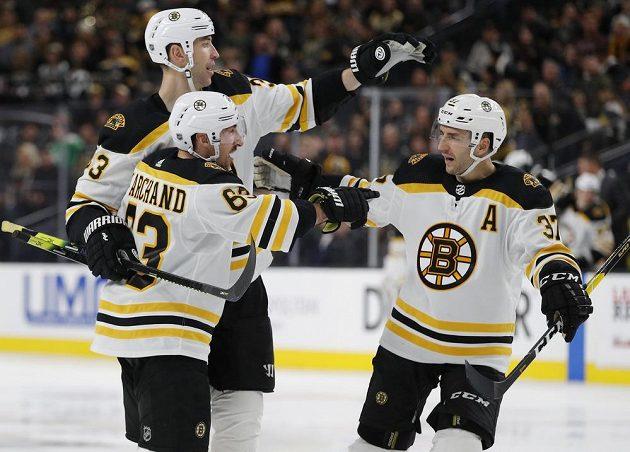 Hokejisté Bostonu slaví další výhru