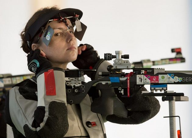 Puškařka Adéla Bruns si vystřílela účast v olympijském finále.
