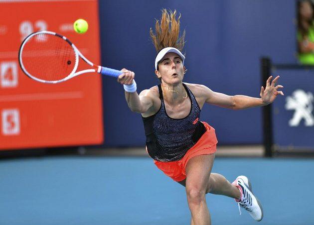 Francouzská tenistka Alize Cornetová v Miami dohrála, postarala se o to Češka Karolína Plíšková.