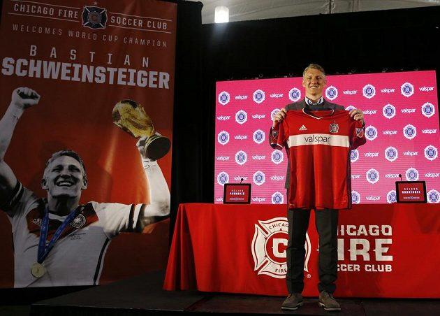 Klub Chicago Fire vítá světového šampióna...