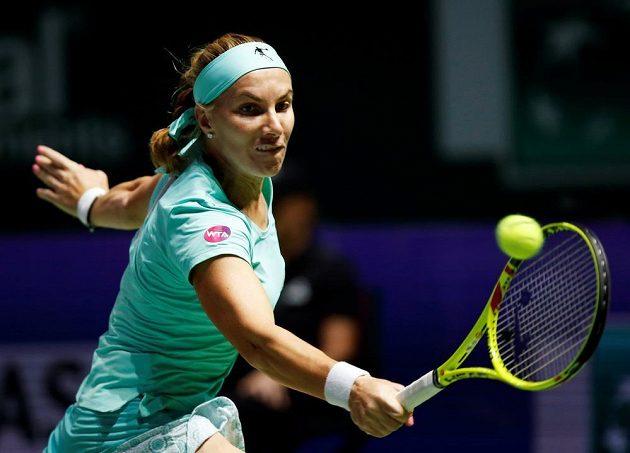 Ruská tenistka Světlana Kuzněcovová v semifinále Turnaje mistryň.