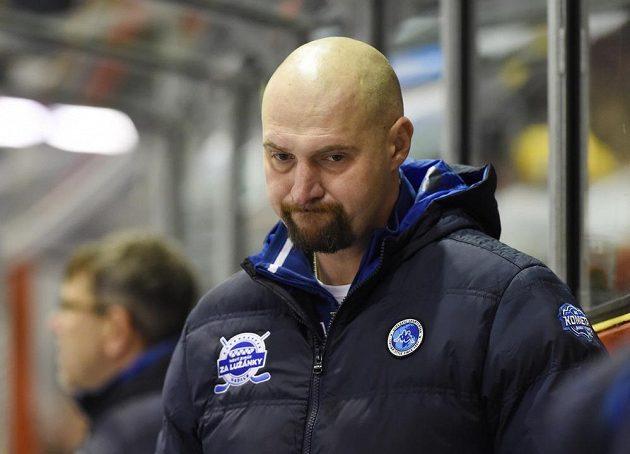 Smutný majitel a nový trenér Komety Brno Libor Zábranský.