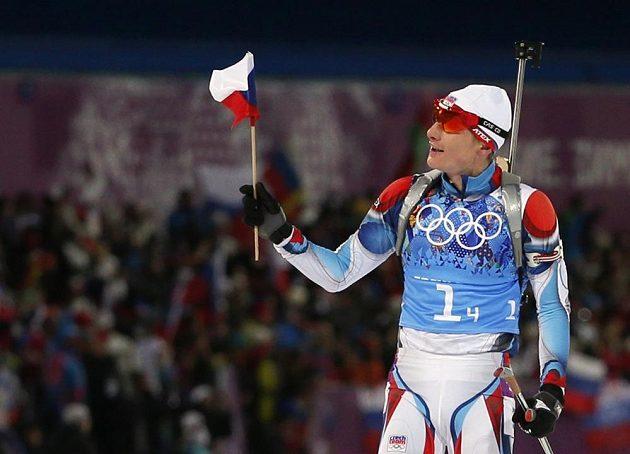 Biatlonista Ondřej Moravec už ví, že České republice stříbrná medaile ze závodu smíšených štafet neunikne.