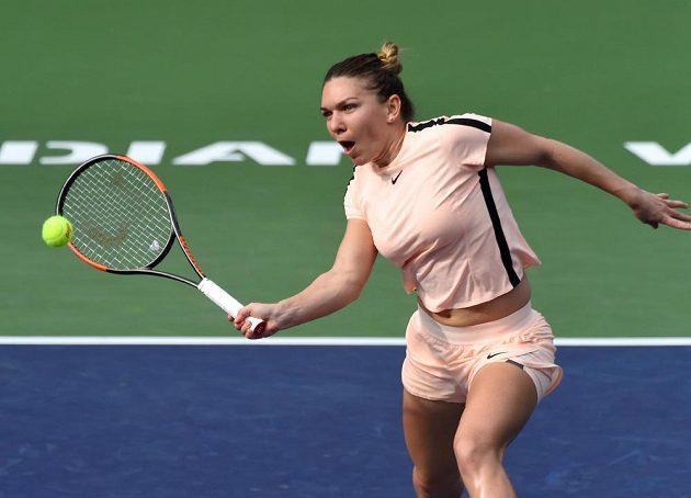 Rumunka Simona Halepová vyřadila v Indian Wells českou tenistku Kristýnu Plíškovou.