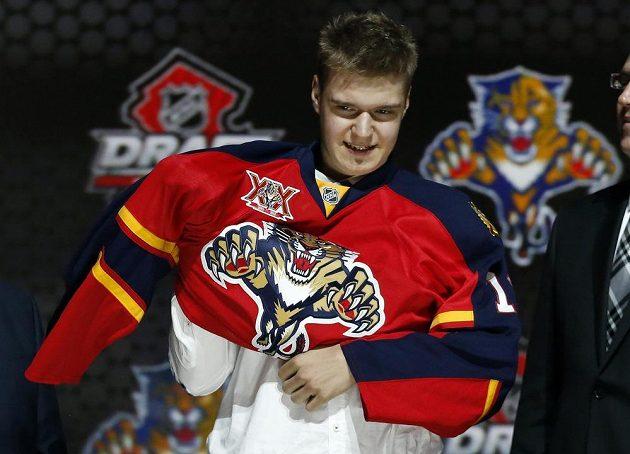 Aleksander Barkov, dvojka letošního draftu NHL, patří Floridě.