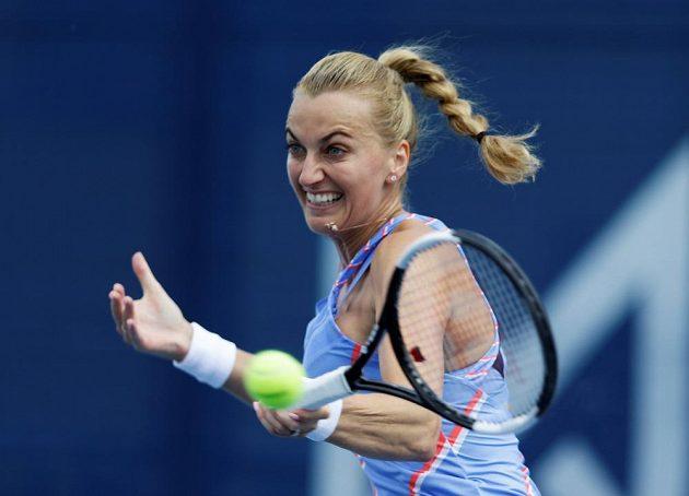 Petra Kvitová ve finále turnaje O pohár prezidenta ČTS.
